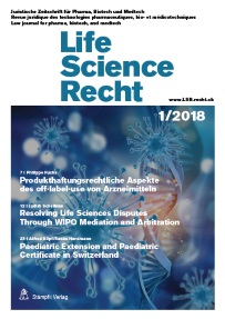 Cover Life Science Recht